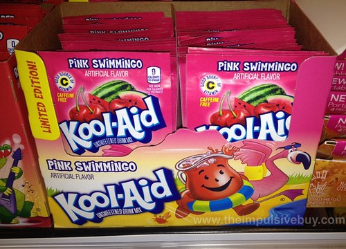 Limited Edition Pink Swimmingo Kool-Aid Drink Mix