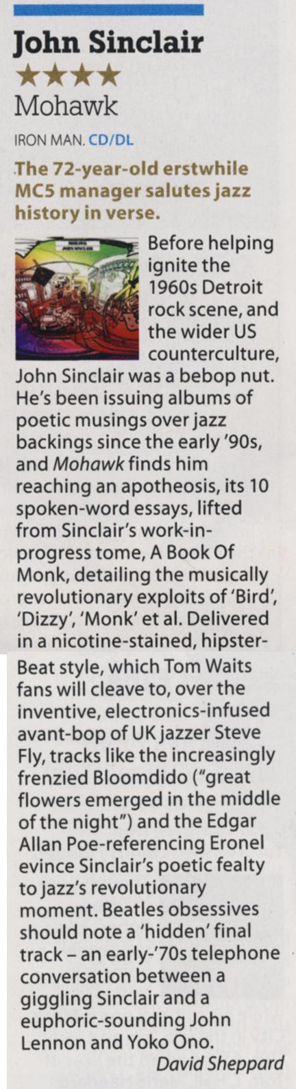 John Sinclair - Mojo May 2014
