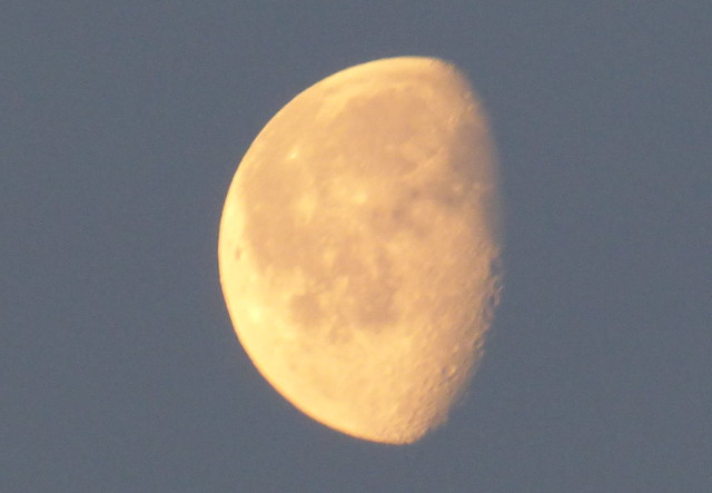 Moon Easter Sunday