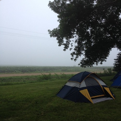 Foggy final morning at Sullyfest