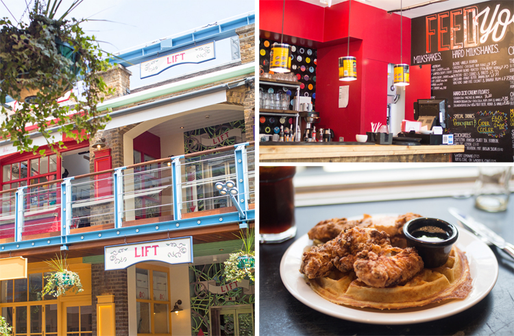 Stax Diner Kingly Court Fried Chicken