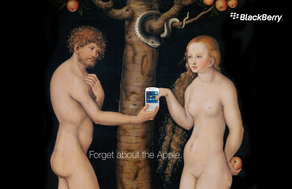 Black Berry - Forget about the Apple 1