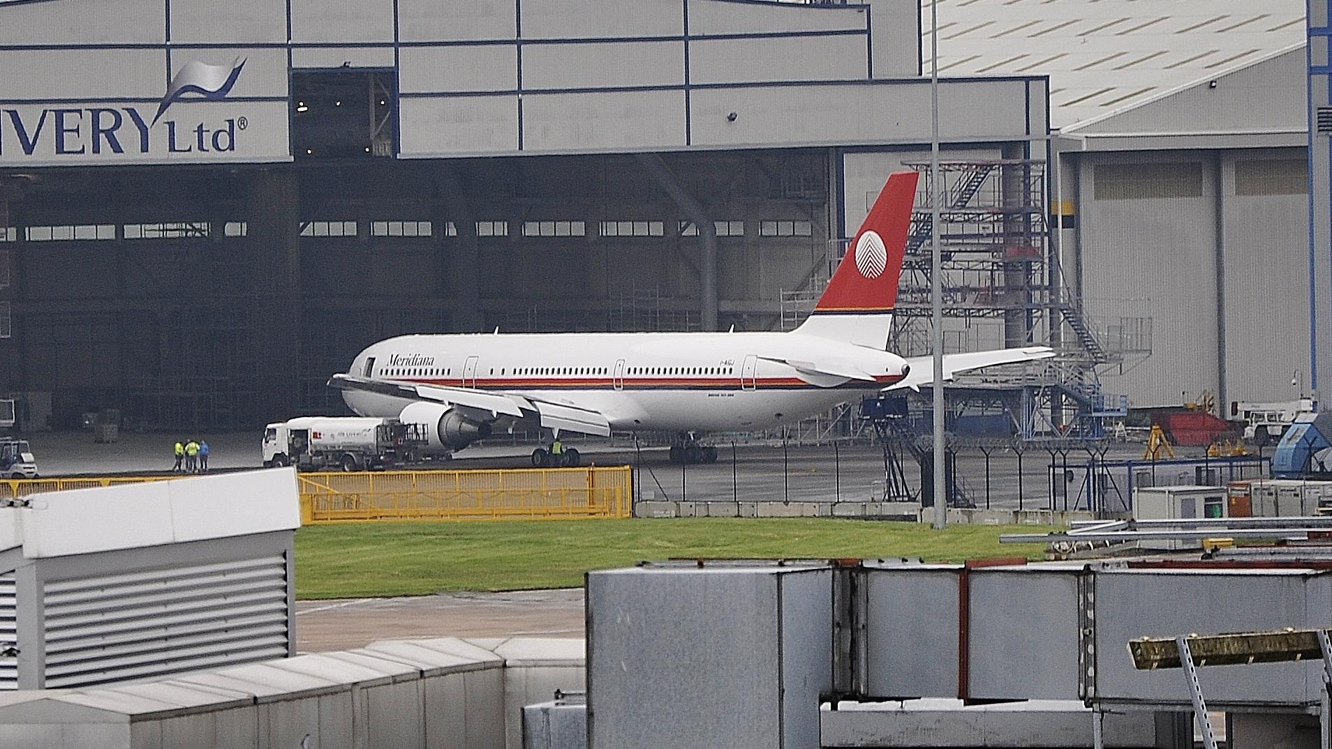 I-AIGJ Meridiana Boeing 767-304(ER)
