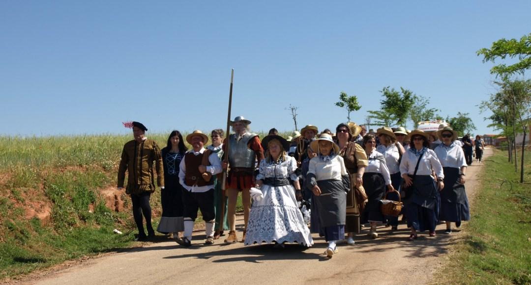 Caminando todos juntos por el Campo de Montiel. Autor, Mancomunidad Campo de Montiel
