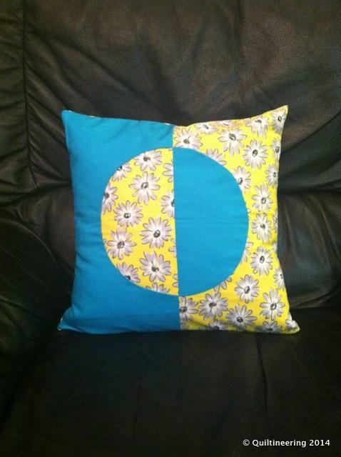 Reflecting Circle Pillow
