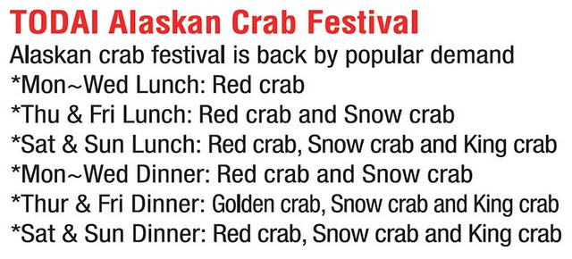 TODAI Alaskan Crab Festival