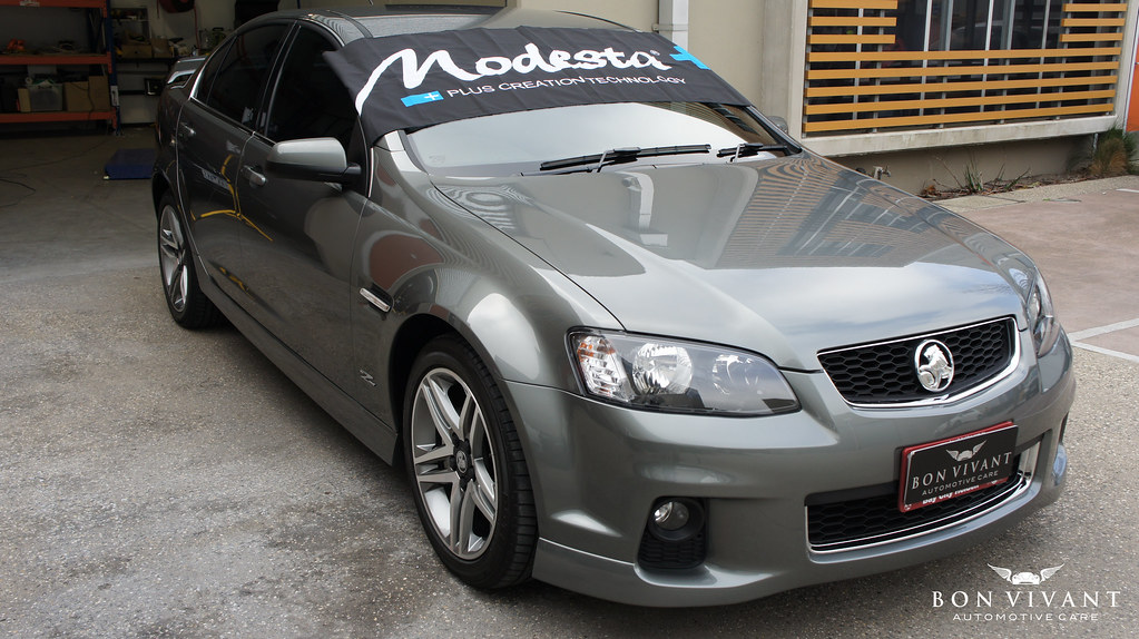 Modesta paint protection on Holden SV6 applied by Bon Vivant