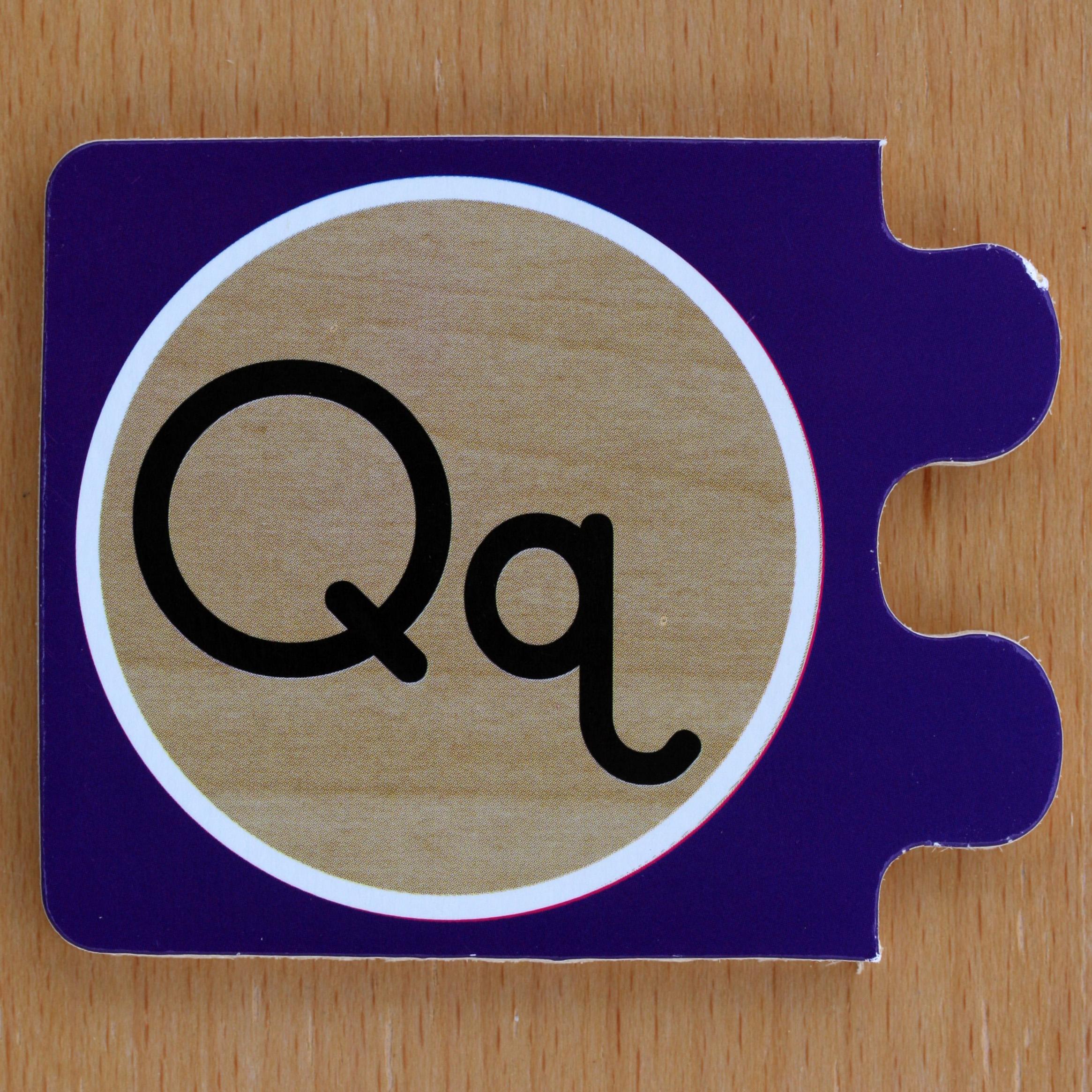Alphabet Puzzle Letter Qq Flickr