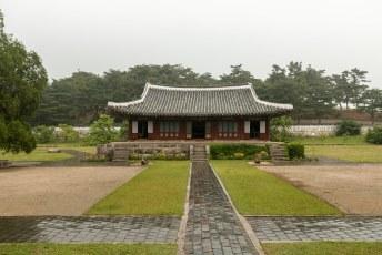 Na de DMZ stond een bezoek aan het Koryo museum op het programma.