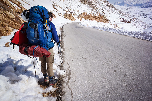 Epic descent into one of many Zagros valleys