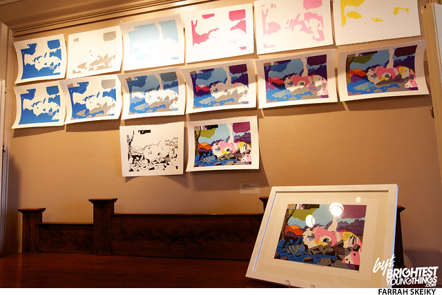 The Art of Comic Books Mansion at Strathmore Brightest Young Things Farrah Skeiky 5