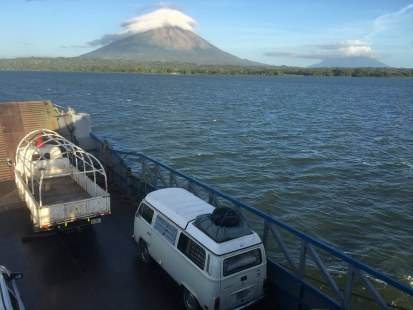 On our way to Ometepe