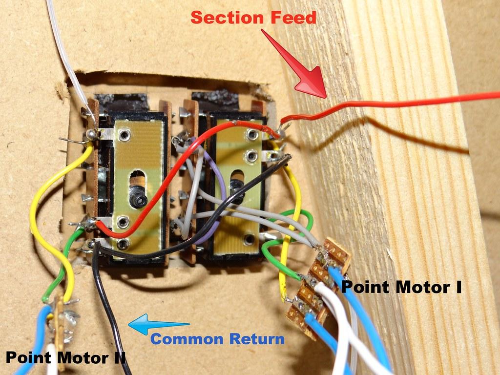 Wiring Diagram Seep Point Motors : Installing peco point motors rjmbjb