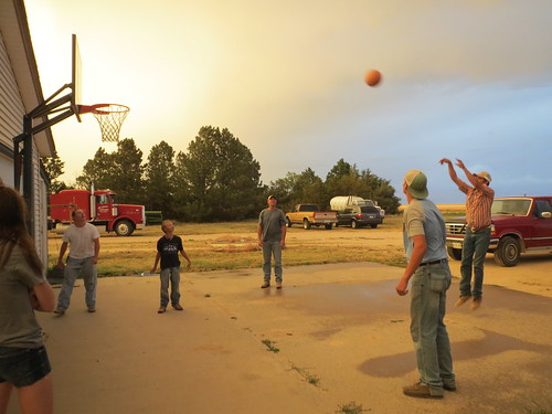 Z Crew: Pick up basketball game