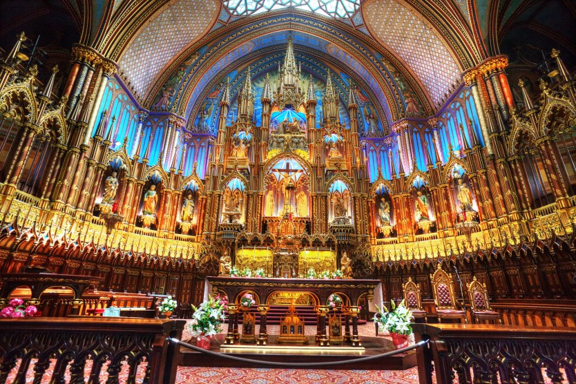 Notre-Dame High Altar.