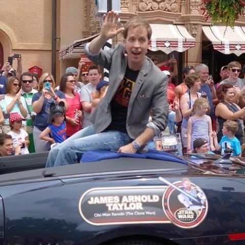 クローン・ウォーズでオビワンのボイスキャストを務めたJames Arnold Taylor。アメリカ版ファイナルファンタジーXのティーダ役もやってる人。