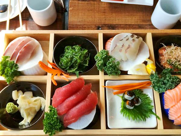Sushi & Sashimi Bento Box, Dami Sushi & Izakaya