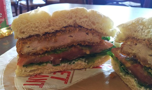 Tim Hortons Tims Crispy Chicken Sandwich Side