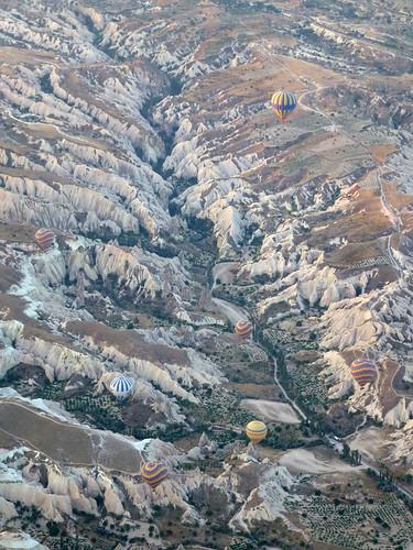 Turquie - jour 20 - Cappadoce, dans les airs et sous terre - 067 - Cappadoce en ballon