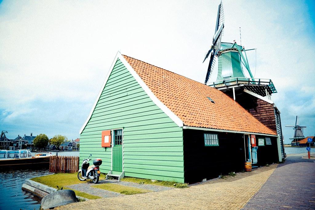 歐洲火車旅遊行程攻略 荷蘭- Zaanse Schans 桑斯安斯 (風車村) (3)