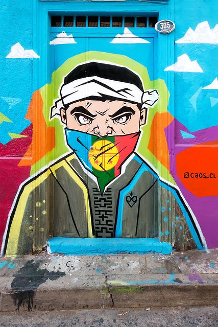 Street Art Valparaiso 12
