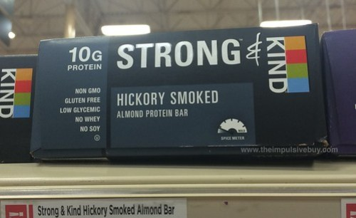 Strong & Kind Hickory Smoked Almond Protein Bar