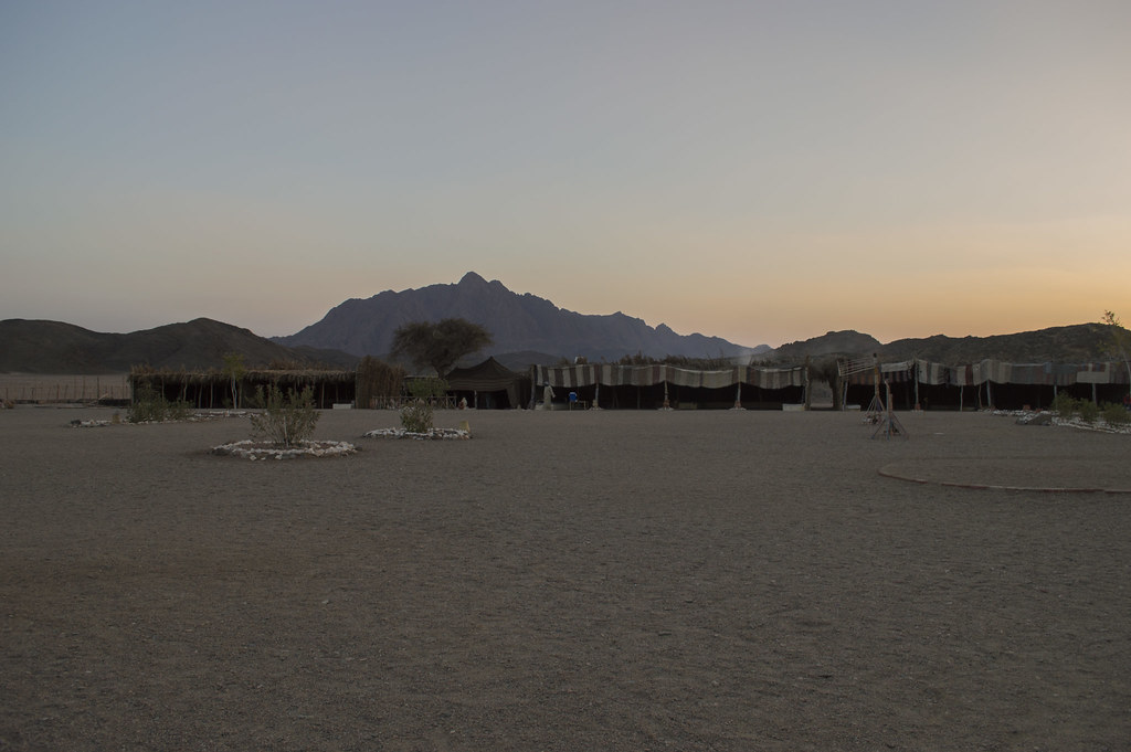 Bedouin village