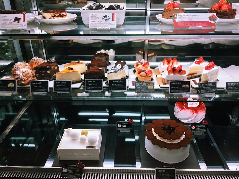 seoul south korea  twosome place coffee desserts Places That Sell Good Cakes