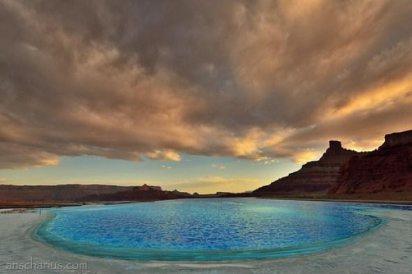 Potash Sunset - Nikon D800E & AF-S 2,8/14-24mm