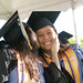 """Victoria Quiniola, right, introduced as the student speaker surprising her mom, left, who graduated with her at Leeward's commencement ceremony at Tuthill Courtyard on May, 16, 2014. For more photos go to <a href=""""https://www.flickr.com/photos/leewardcc/sets/72157644342097098/"""">www.flickr.com/photos/leewardcc/sets/72157644342097098/</a>"""
