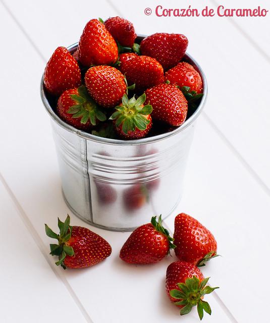 Tarta de fresas sin horno