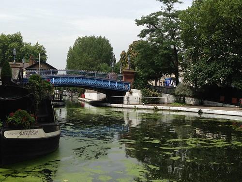 Regent's Canal, Little Venice, London. Londres