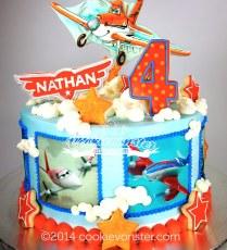 'Planes' cake for Nathan