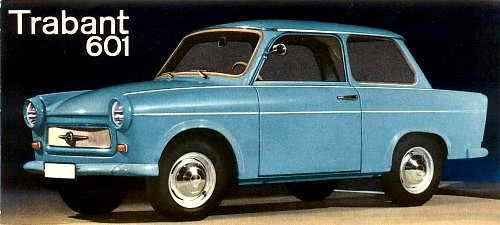 trabant 1965 601 sedan