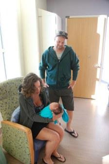 Auntie Em & Uncle Max's visit
