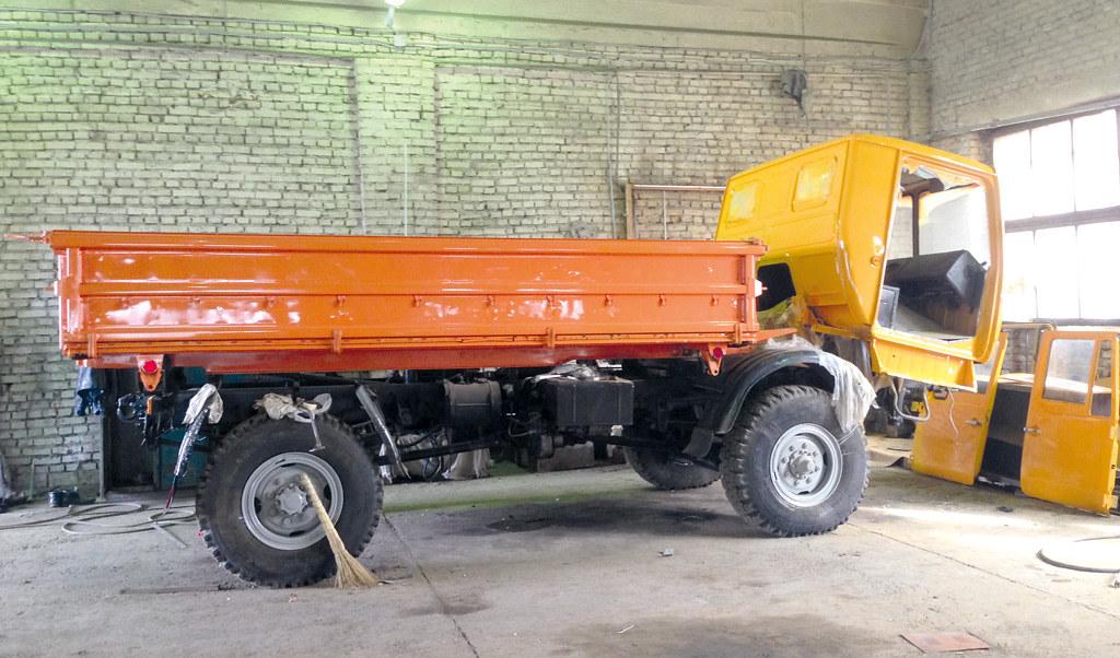КАЗ-4540 на последней стадии реставрации
