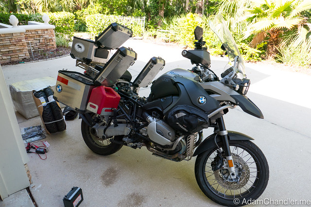 R1200 GS Adventure - Out of Storage