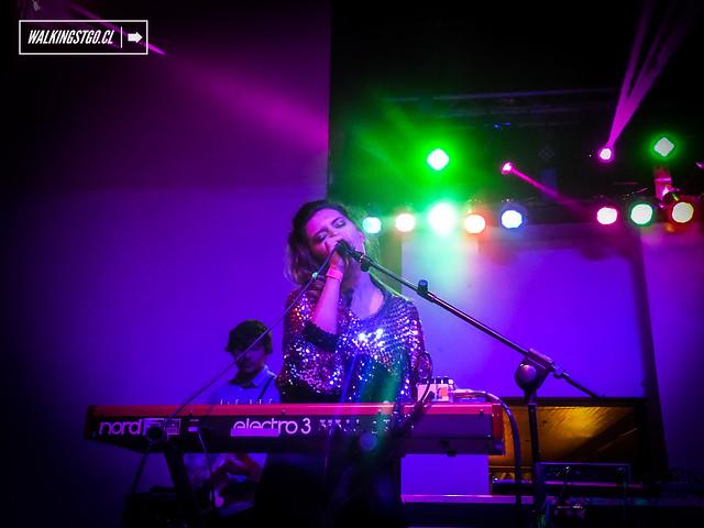 Dënver en vivo en fiesta La Roma en espacio IF -11.07.2014- produce MilM2 y Fauna Producciones.