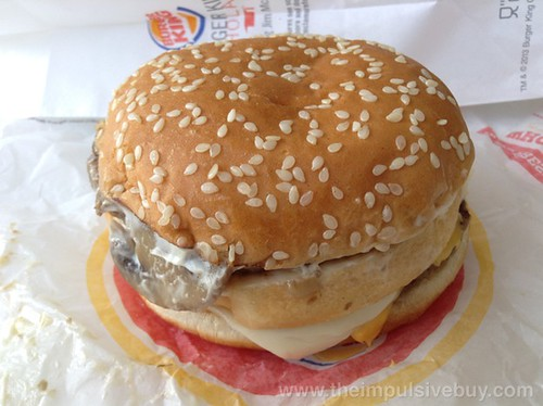 Burger King Mushroom & Swiss Big King