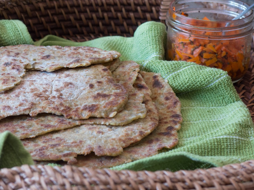 Zucchini and Thyme Flatbreads | infinebalance.com #vegan #recipe