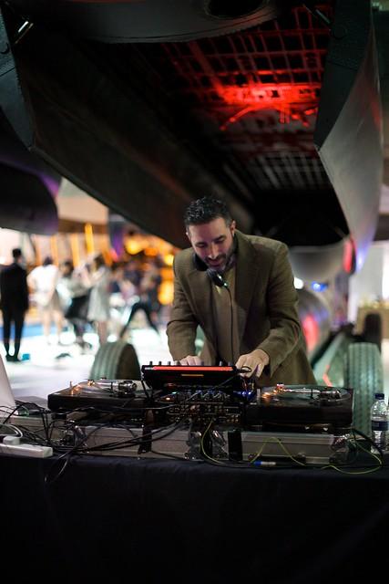 DJ Yoda at Royal Air Force Museum Hendon