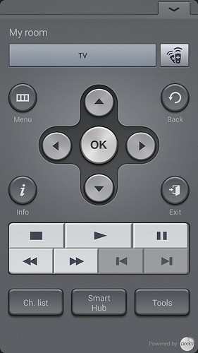 Smart Remote ของ Samsung Galaxy S5
