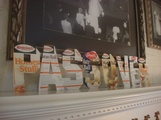 Passover Box Letters Craft by DeepFriedKudzu.com