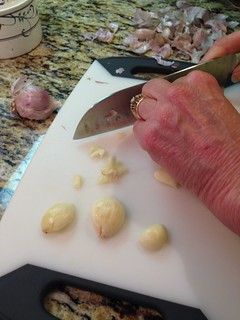Dicing Garlic