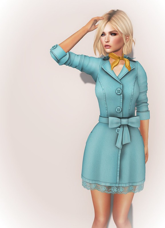 Poppy Little Trench Coat