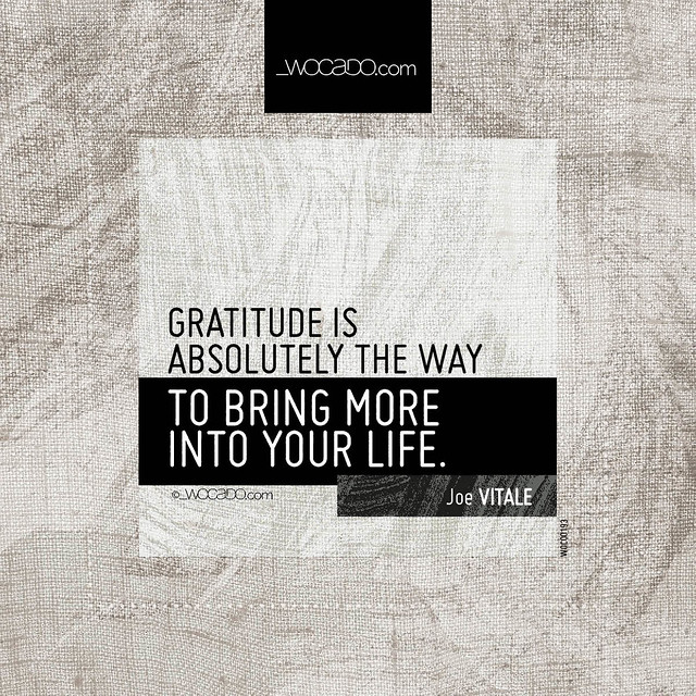 Gratitude is absolutely the way by WOCADO.com