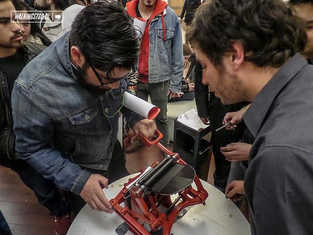 """Inauguración de Tipos Latinos Chile 2014 en @BibliotecadStgo """"6a Bienal de Tipografía Latinoamericana"""" #Santiago 05.06.2014"""