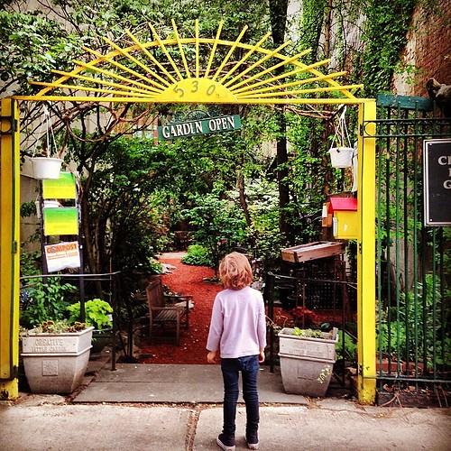 Garden open #lovemyboo #eastvillage #garden
