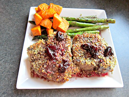 Lamb Chops with Cherry Port Sauce 006