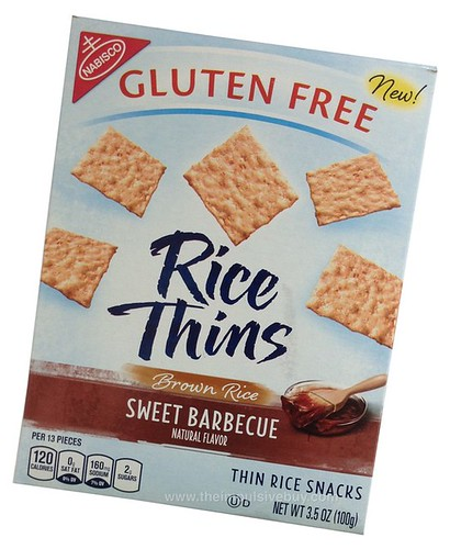 Nabisco Sweet Barbecue Rice Thins